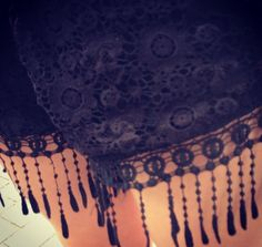 GothicGlamour- For These crochet embellished shorts its all in the detail, with the tassels and embroidery, it transforms into an piece worthy of the dark side of fashion.