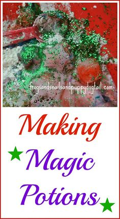 Magic Potions fun sensory play and pretend play for the kids.  great for multiple ages by FSPDT