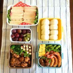 昨日は保育園最後の運動会、感動でした☻ - 98件のもぐもぐ - 運動会のお弁当。 by sakiko