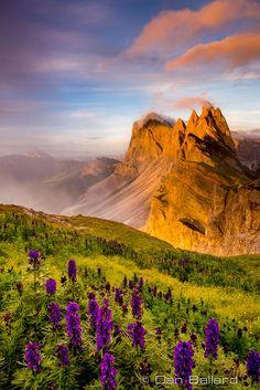 """Photograph """"Colore di Italia""""  Dolomites, Italy by Dan Ballard on 500px"""