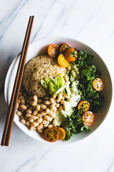 Green Thai Curry Brown Rice Bowl | Parsley Vegan