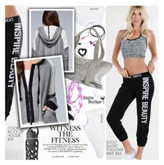 """Witness The Fitness"" by seaside-boutique ❤ liked on Polyvore featuring NIKE, Nicole Miller, Zero Gravity, women's clothing, women's fashion, women, female, woman, misses and juniors"