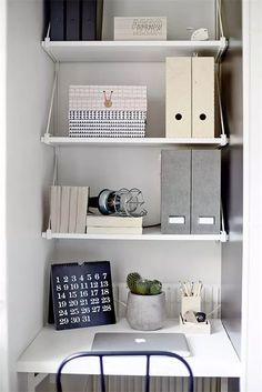 New Ideas Ikea Storage Desk Shelves