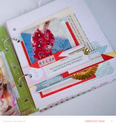 """Check out the cute mini Celeste made with the Excalibur Add On. Amazing! """"Easter 2014 mini album"""" by celestev at @Studio_Calico"""