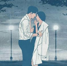 I'll shelter you from the rain. Cute Couple Drawings, Cute Couple Art, Blue Anime, Anime Love, Best Wattpad Stories, Love Wallpapers Romantic, Tumblr Drawings, Wattpad Book Covers, Freaky Relationship