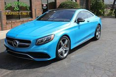 Gorgeous car & wrap in Avery Pearl Bahama Blue. Thx Car Wraps & Graphics, www.CarWrapsAndGraphics.Net