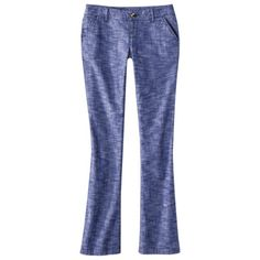 Mossimo Supply Co. Juniors Bootcut Pant - Assorted Colors tried these on yesterday and they are LUV!!! so want a pair now