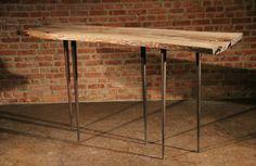 Oak console table Toothpick