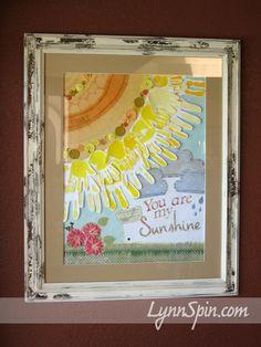 You are my sunshine craft