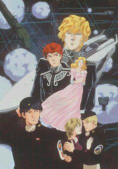 Legend of Galactic Heroes . 1988-1997