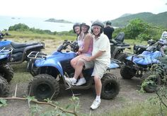 For all those adrenaline junkies going to St Lucia, I recommend you have a go at quad biking with ATV St Lucia which we booked with our representative Angie from St Lucia Reps. It's a great half day out