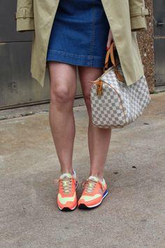 New Balance sneakers & a Speedy