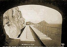 El Puente del desaparecido Paseo Gral. Juan Dominguez 1935 Mzatlan, Sinaloa