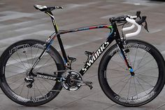 Peter Sagan's new Specialized S-Works Tarmac. We like!