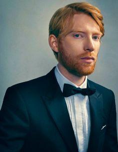 smol-hux: Domhnall Gleeson for Bafta Portraits