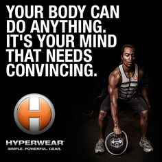 You. CAN. Do. It. #Truth #Fitspiration #Hyperwear #SteelBell
