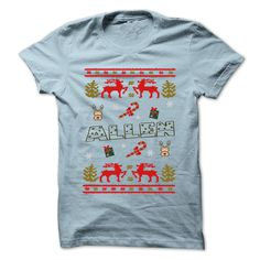 Christmas ALLEN ٩(^‿^)۶ ... 999 Cool Name Shirt !If you are ALLEN or loves one. Then this shirt is for you. Cheers !!!Christmas ALLEN, cute ALLEN shirt, awesome ALLEN shirt, great ALLEN shirt, team ALLEN shirt, ALLEN mom shirt, ALLEN dady shirt, ALLEN shirt