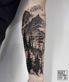 Combination landscape - add more to make full sleeve