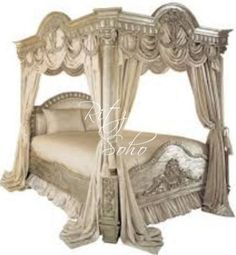 French Canopy Bed | French Canopy Bed - Pharaoh