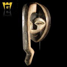 Wolfz Gallery African Kwele Snake Mask | eBay