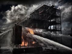 Fire Drill by Robert Peek Fotografie , via Behance