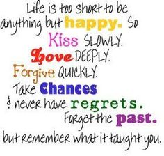 Life's too short...