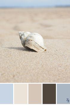 ZJ Colour Palette 259 #colourpalette #colourinspiration Beach Color Palettes, Colour Pallette, Colour Schemes, Room Colors, Paint Colors, Color Psychology, Color Balance, Colour Board, Deco Design