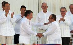 """BLOG ÁLVARO NEVES """"O ETERNO APRENDIZ"""" : FARC E GOVERNO DA COLÔMBIA ASSINAM ACORDO DE PAZ A..."""