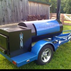 Jambo BBQ pit Bbq Smoker Trailer, Bbq Pit Smoker, Diy Smoker, Barbecue Pit, Bbq Grill, Bar B Que Grills, Bar B Que Pits, Custom Smokers, Custom Bbq Pits