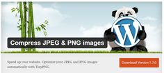 Compress JPEG and PNG Images wordpress Plugin