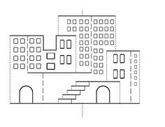 Kirigami Stairs Template <b>kirigami</b>, <b>templates</b> and architecture on pinterest