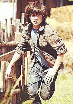 Carl Grimes, S4. Sorry Carl, but I'm ready for you to be bitten!