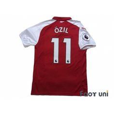 8fc7cba436d Arsenal 2017-2018 Home Shirt #11 Ozil Premier League Patch/Badge w/tags