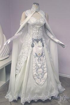 Twilight princess wedding dress