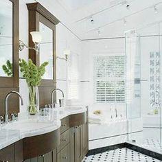 Bathroom On Pinterest Traditional Bathroom Bath And Revere Pewter