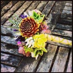 All Succulent Bouquet