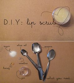 DIY Lip Scrub.