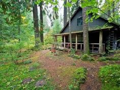 Brightwood House Rental: Secluded Historic Log Cabin With Private River Access! | HomeAway