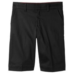 Dickies Juniors' Classic Stretch Bermuda Short - Black 15, Girl's