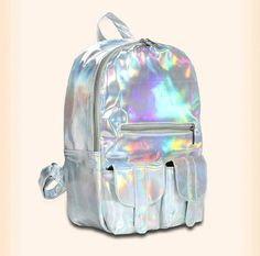 Hologram Laser Backpack Fashion Backpack Shoulder Backpack Jelly Backpacks