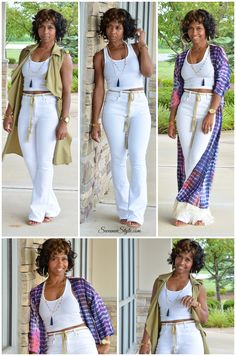 All White, Kimono Style, Summer Outfit Idea, Ways to Wear Summer Wear, Spring Summer Fashion, Spring Outfits, Style Summer, Outfit Summer, Fall Fashion, Winter Outfits, Casual Outfits, Cute Outfits