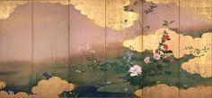 柴田是真「四季花鳥図」東京国立博物館蔵