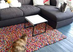 15 DIY Rugs to Improve Your Home Interior
