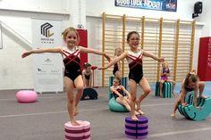 The young gymnasts loved tumbling around practising their balance and core strength. A variety of these fun and versatile items will be on sale at the Tree of Hope Centre. www.tumblingfurniture.co.uk