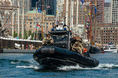 Boston Harbor security for Sail Boston 2017 Coast Guard Boats, Us Coast Guard, Coast Gaurd, Boston Harbor, Tactical Survival, Emergency Vehicles, Small Boats, Motor Boats, Tall Ships