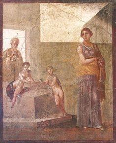 Casa dei Dioscuri - conservata al museo archeologico nazionale di Napoli.
