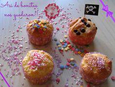 #magdalenas #freegluten #singluten #cumple #merienda #toppings #party #receta en el #blog