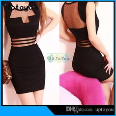 2015CLUB Dresses Bodycon Dress SHEER ZIPPER DRESS HOLLOW OUT Party Dress SEXY Slim Mini Casual Dress S/M/L/XL 4 SIZES BLACK WHITE COLORS from Uptoyou,$4.72 | DHgate.com