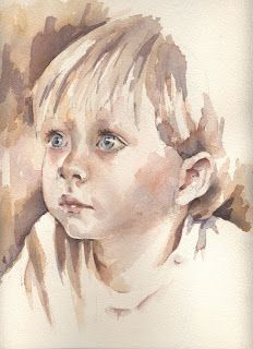 A very early portrait of mine -Jean Haines