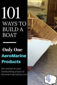 There's a lot of ways to build a boat, but there's only one AeroMarine Products Epoxy Resin. Clad your wood hull in durable, barely-there fiberglass and epoxy resin. Start your journey at AeroMarine Products.